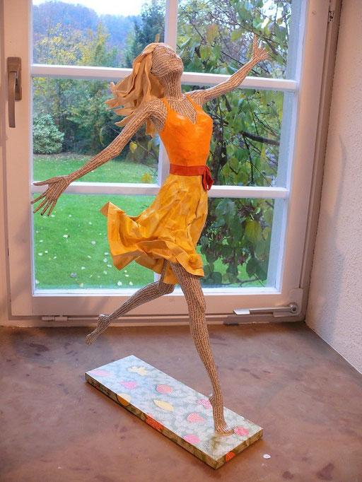 Elena Lichtsteiner: Lebensfreude (2019, ca. 80 cm)