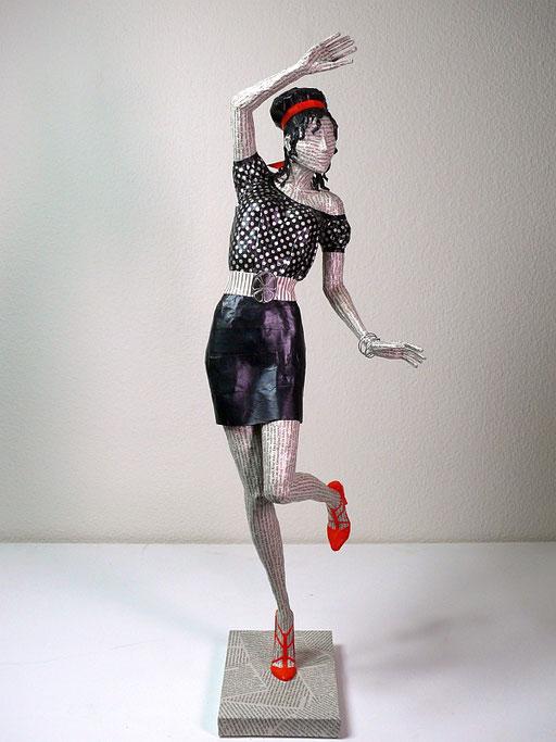 Elena Lichtsteiner: Carmen (2019; ca. 70 cm)