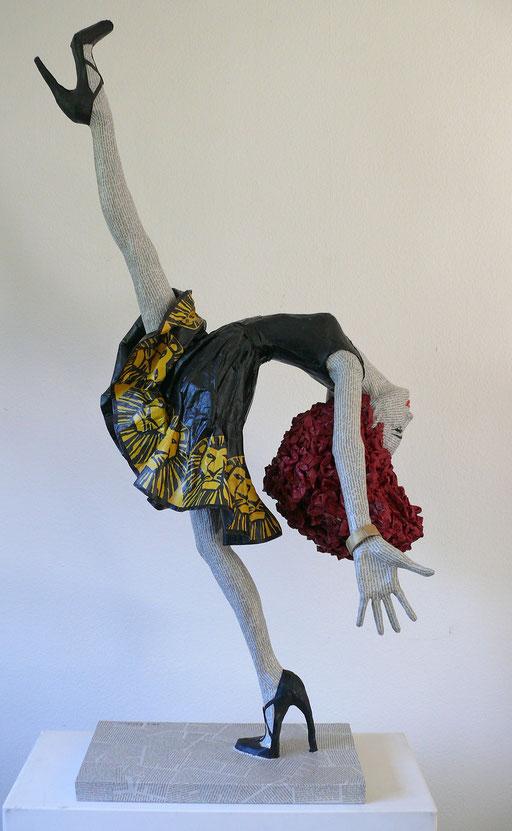 Elena Lichtsteiner, Skulpturen: Wild Thing (2017, 130 cm)