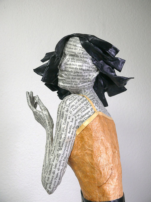 Elena Lichtsteiner: Midnight (2019; ca. 70 cm); Detail