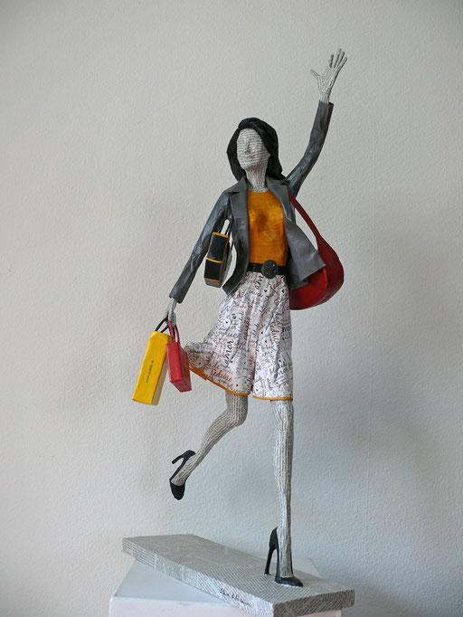 Elena Lichtsteiner, Skulpturen: Heimkehr (2017, 70 cm)