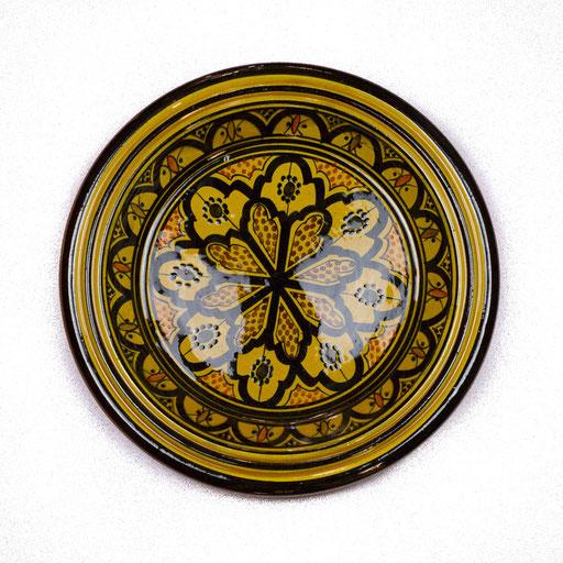 Orientalischer Teller mit Muster - CASAORIENT Stuttgart