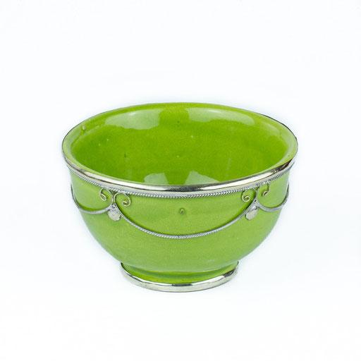 Orientalische Schüssel grünes Glas - CASAORIENT Stuttgart