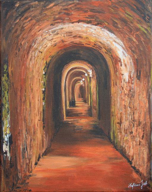 Tunnel ins Glück 50x40