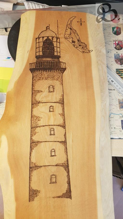 Entstehung des Leuchtturmes Schritt für Schritt 1