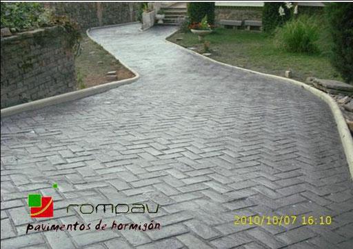 beton imprime france