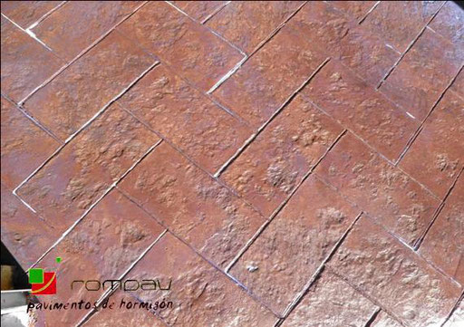 beton imprime roanne