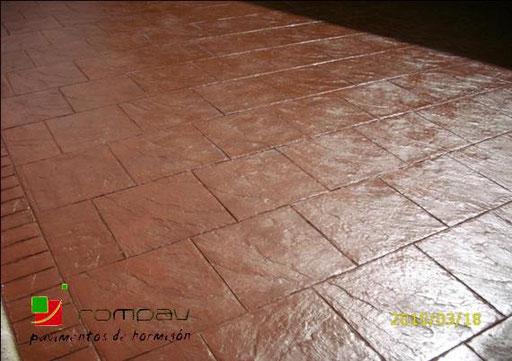 pave beton