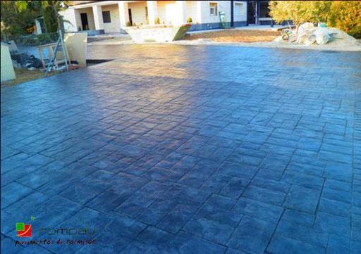 sols beton imprime