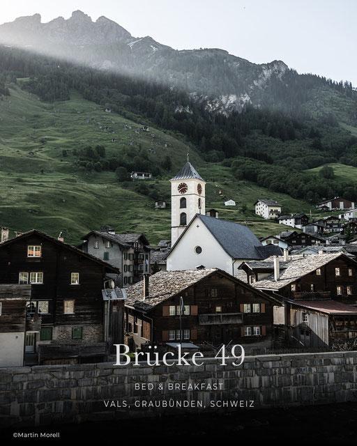 Brücke 49, Boutiquehotel, Bed & Breakfast, B&B, Vals - Graubünden - Schweiz