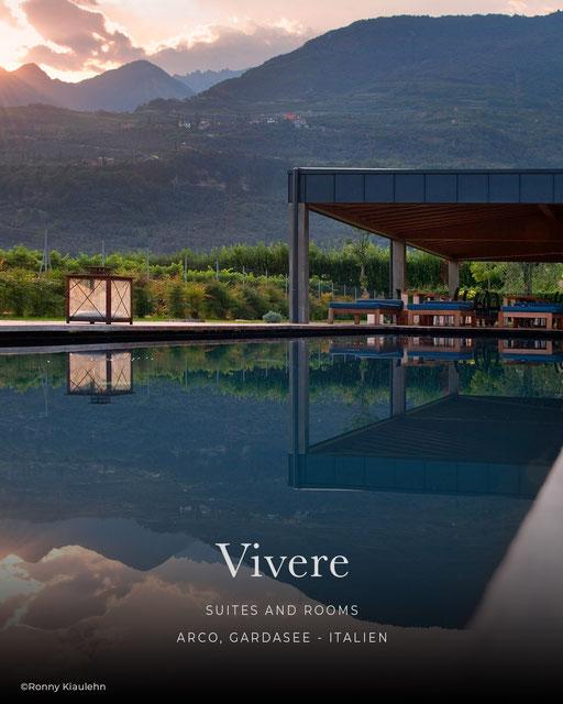 Vivere, Landhaus, Boutiquehotel, Wellnesshotel, Designhotel, Gardasee - Arco, Italien