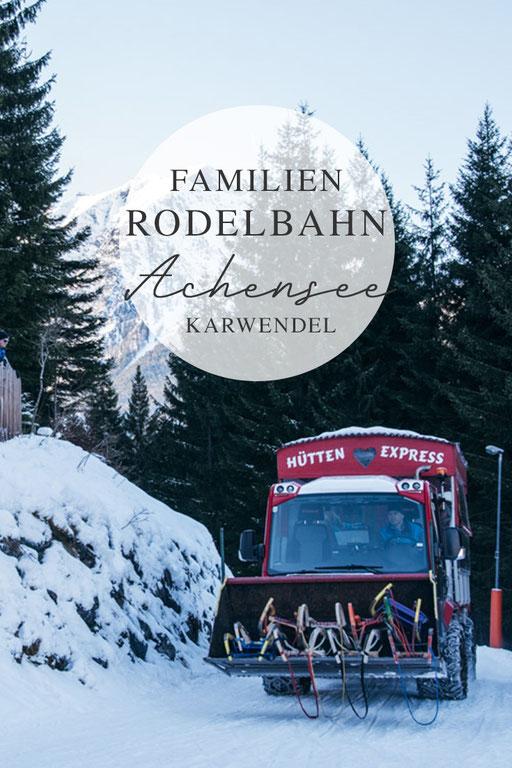 Rodlhütte Pertisau - Achensee, Rodelbahn Tirol, einfach - kurz - familientauglich