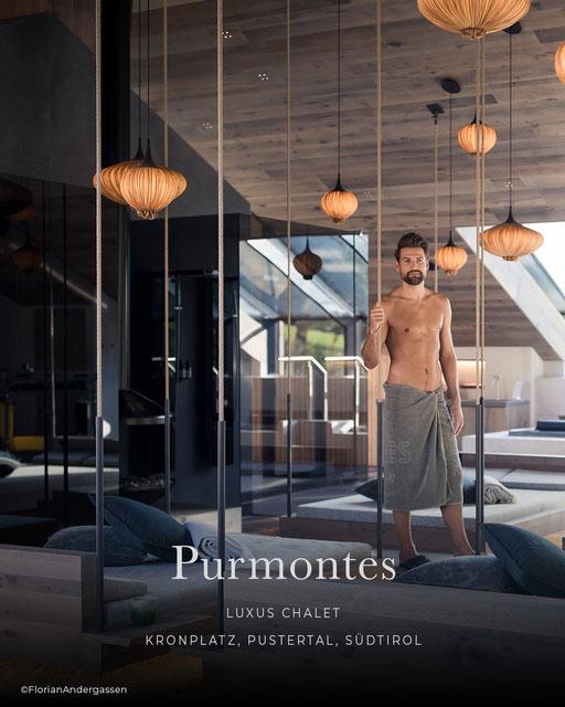 Purmontes, Luxushotel, Luxus Chalet, Design Chalet, Wellnesshotel, Pustertal - Südtirol, Italien