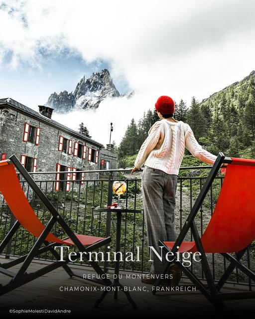 Terminal Neige Refuge de Montenvers, Chamonix - Frankreich, Hütte, Boutiquehotel