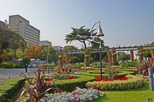 外国を思わせる公園