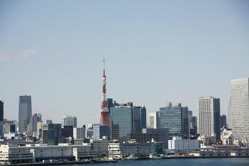 東京タワーも見える
