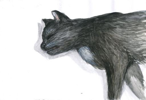 Death portrait of Omen