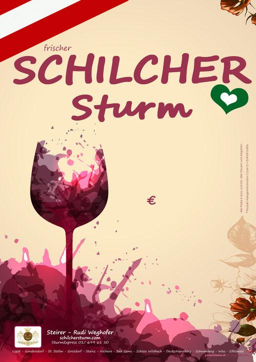 Steirer Rudi Weghofer - Schilcher Sturm