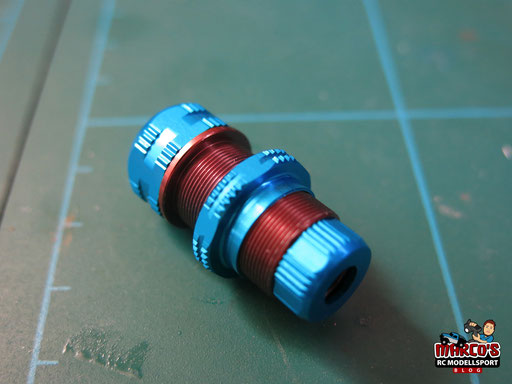 Yeah Racing - Gear Shock 1/10 Aluminium Dämpfer Set 60mm für 1/10 Offroad/Rally