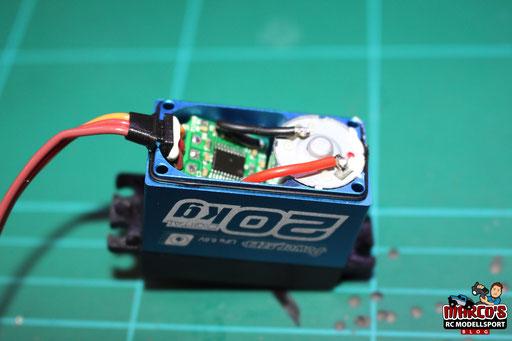 Power HD LW-20MG Servo, Wasserdicht , 20kg