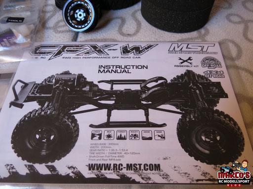 MST-CFX-W Unboxing und Aufbau