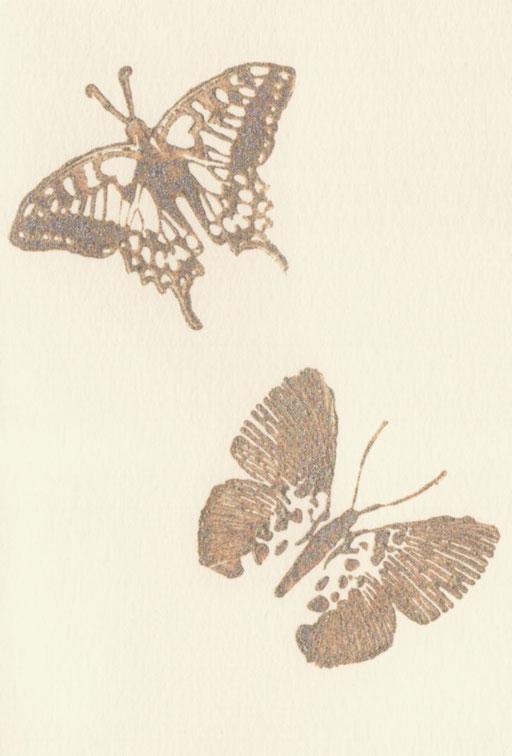 Schmetterlinge C6 Natur, 2,50 Euro