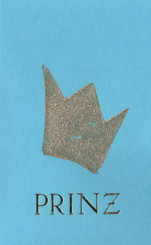 Prinz blau C6, 4 Euro