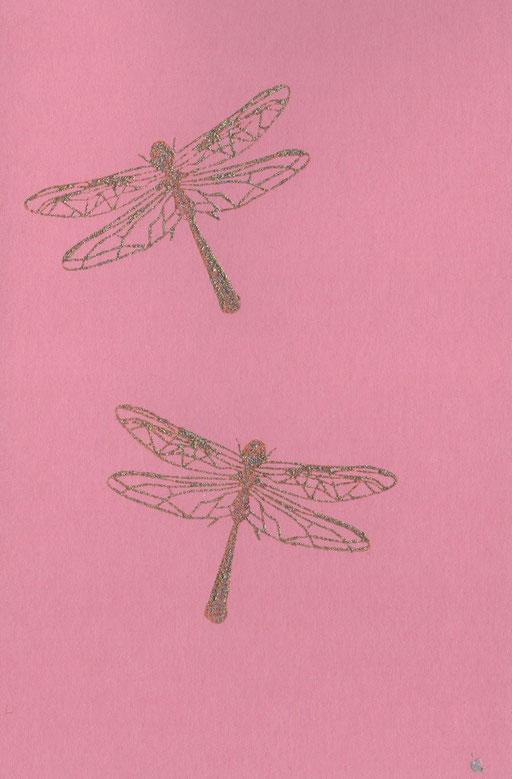 Libellen rosa C6, 2,50 Euro