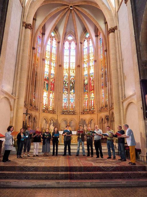 Les stagiaires en générale à Sainte-Ségolène