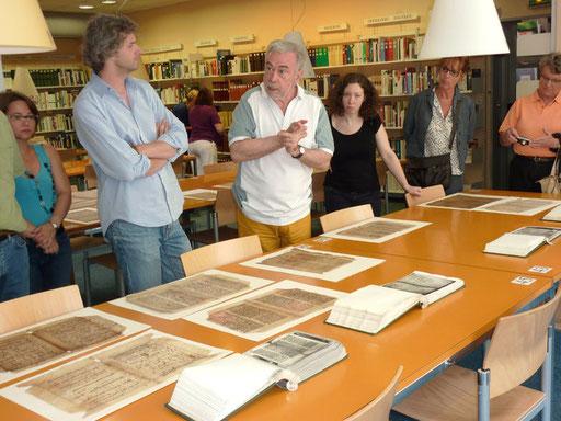 Manuscrits et facsimilés à la médiathèque de Metz