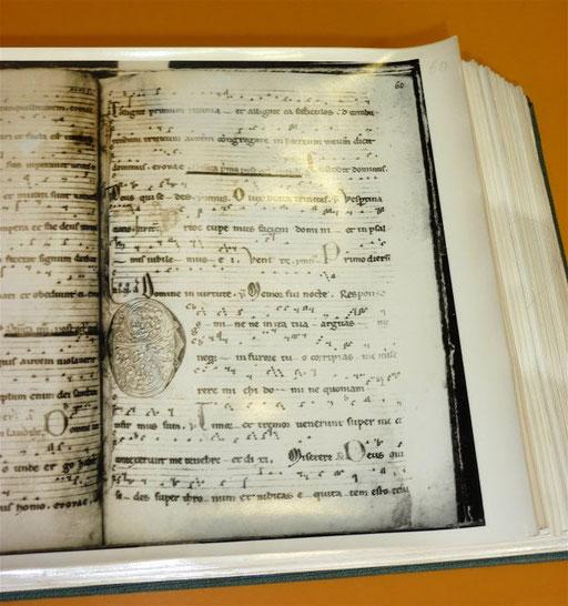 Facsimile du manuscrit Metz 461
