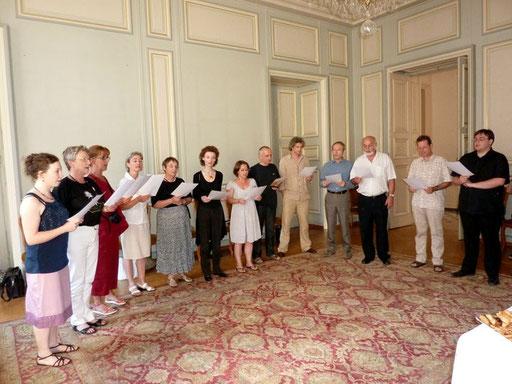 Moment musical à l'Hôtel de ville