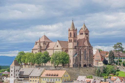 Das Breisacher Münster vom Eckartsberg aus