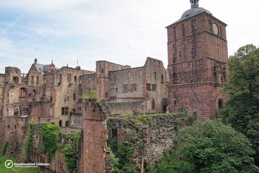 Noch ein Blick aufs Heidelberger Schloss
