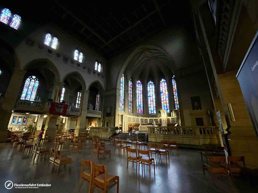 Die ,,Kathedrale unserer lieben Frau'' in Luxemburg