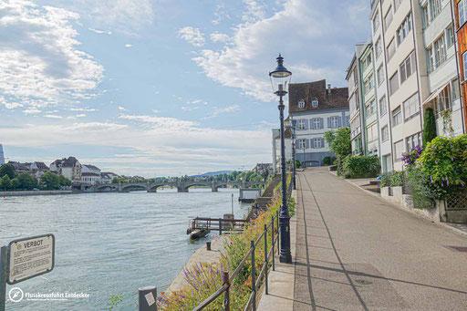 Blick auf das Baseler Panorama