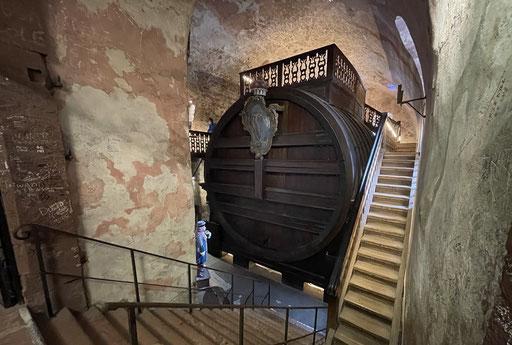Unglaublich: In dieses Weinfass passen fast 200.000 Liter Wein