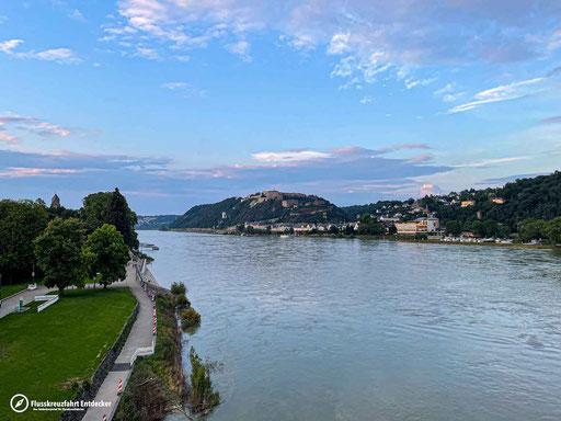 Abendstimmung in Koblenz