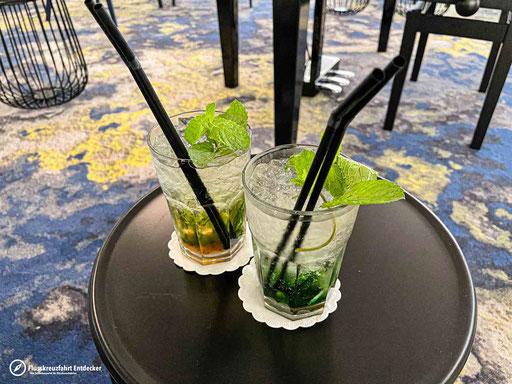 Leckere Cocktails auf dem Weg nach Wien