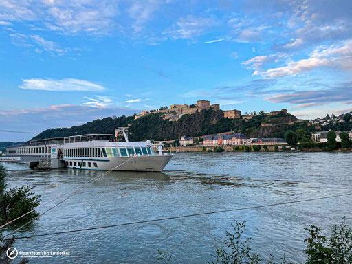 MS Aurelia in Koblenz