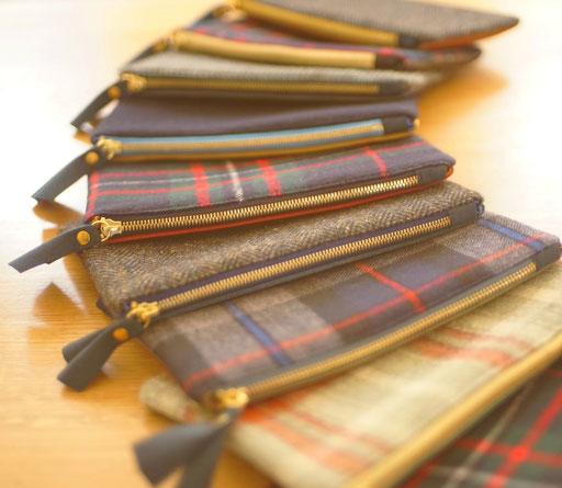 Pochettes en cuir, label Fabriqué à Paris, France