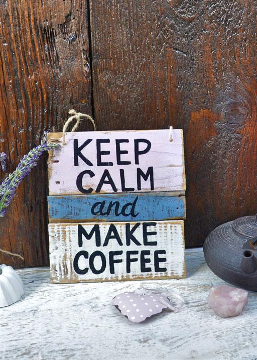 keep calm  Nr. 2  ca. 18cm/20cm  Fr. 32.-