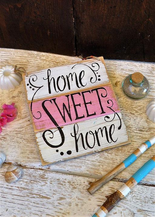home sweet home  Nr. 5   ca. 21cm/24cm  Fr. 39.-