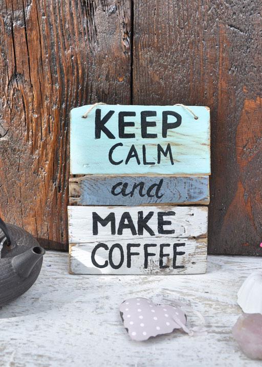 keep calm  Nr. 1  ca. 17cm/20cm  Fr. 32.-