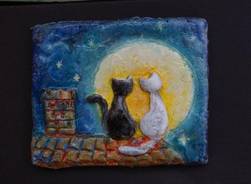 Piastrellina gatti