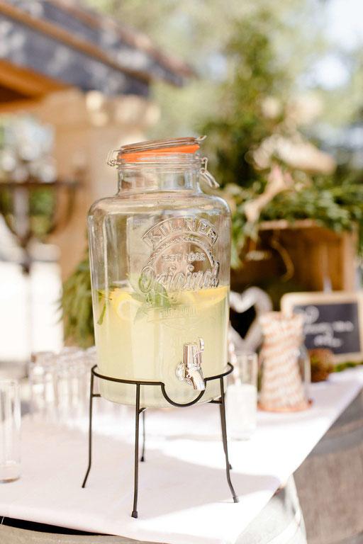 citronnade mariage champêtre