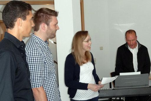 Für musikalische Unterhaltung sorgten die Teilnehmerinnen und Teilnehmer des Fachseminars Musik. Foto: Ulrichs