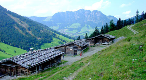 Wanderwege, Bergtouren