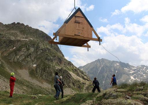 Héliportage à Chabarrou - Vallée de Cauterets