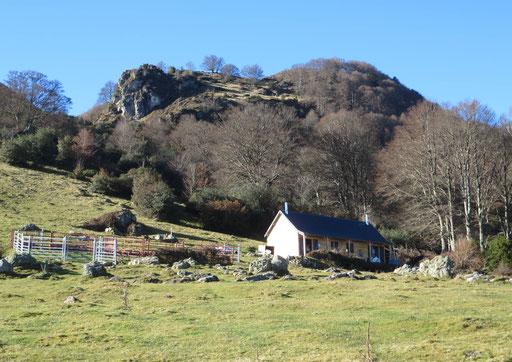 Cabane d'Aulhet - Massif du Pibeste